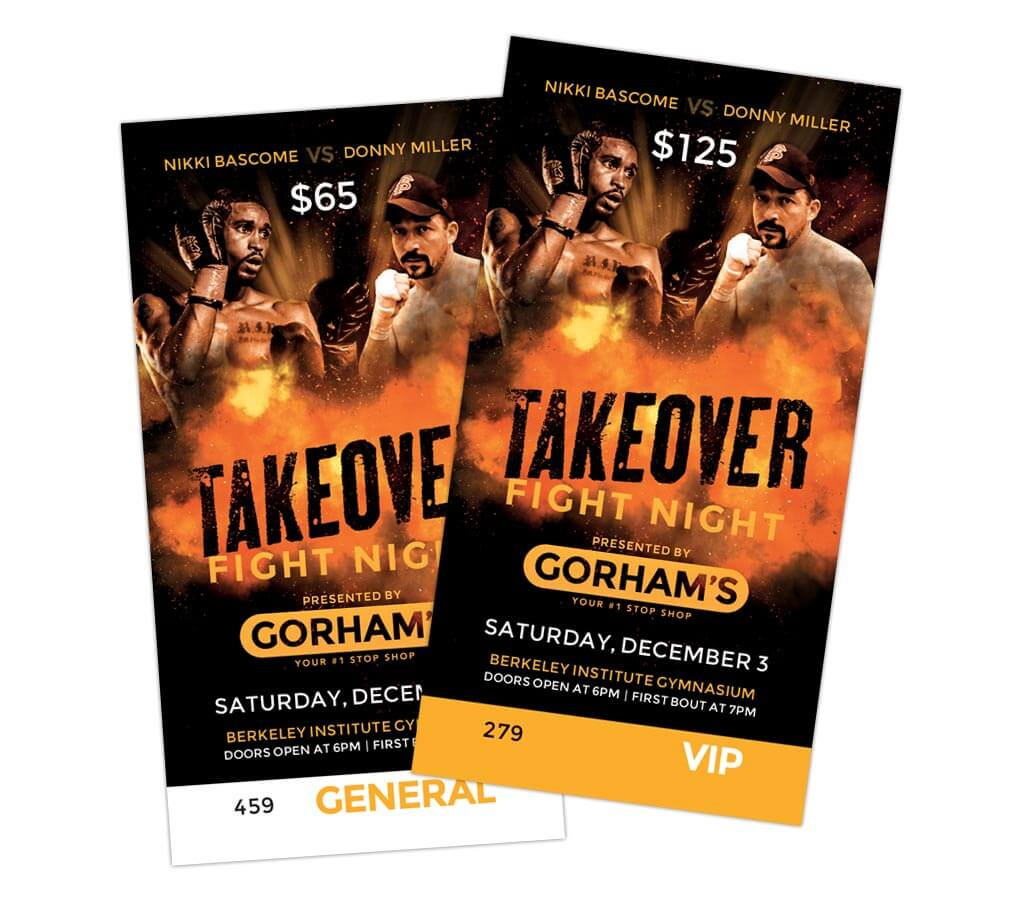 Takeover Fight Night Tickets