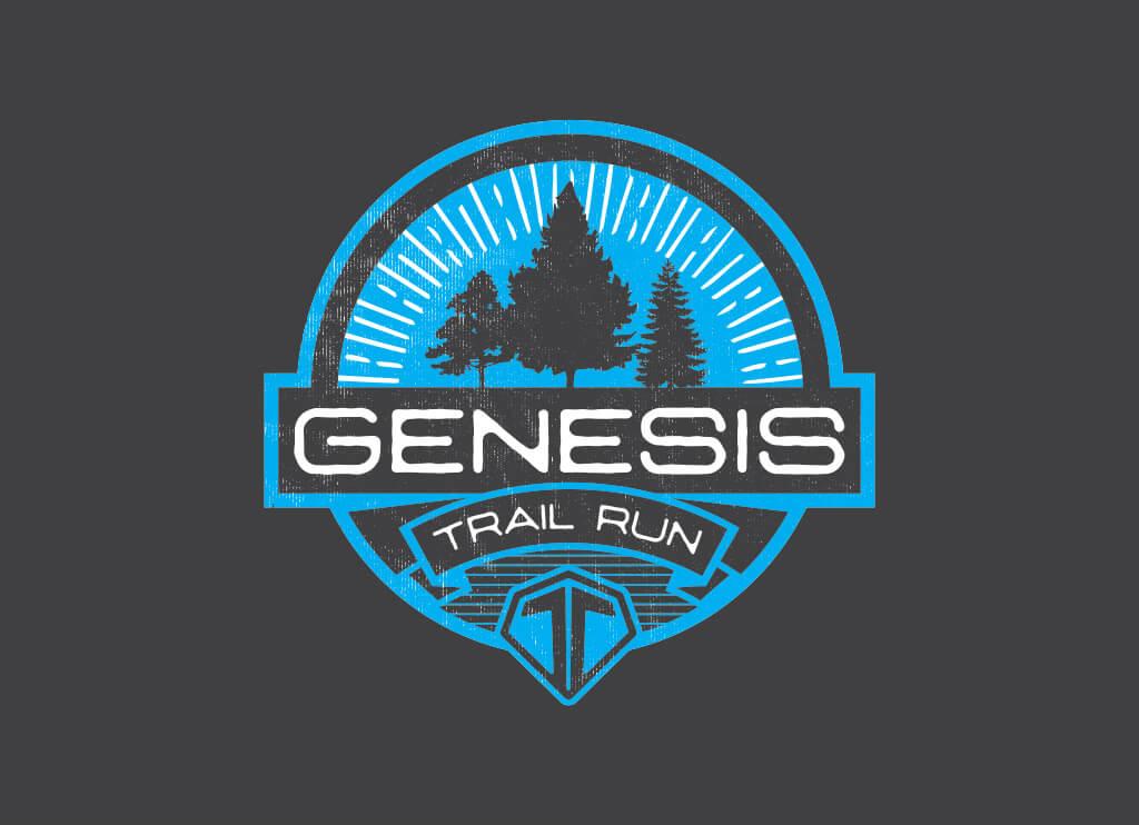 Genesis Trail Run Logo