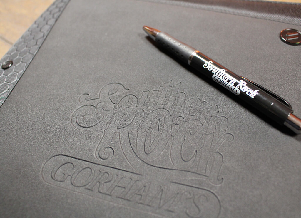 Southern Rock Padfolio & Pen