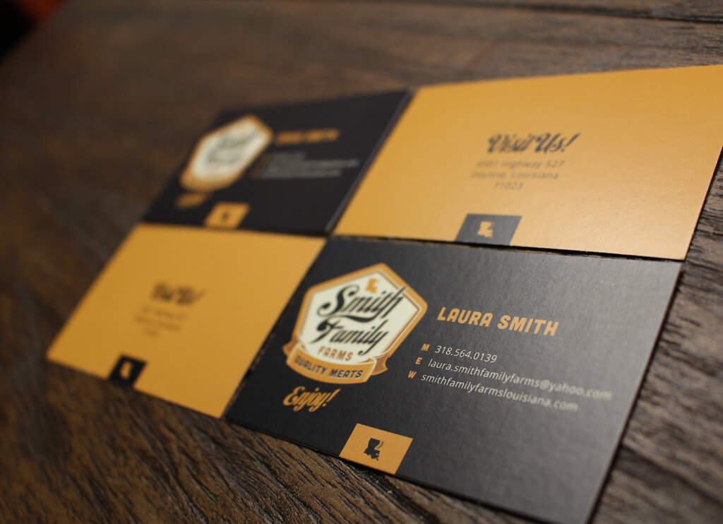 Smith Family Business Cards